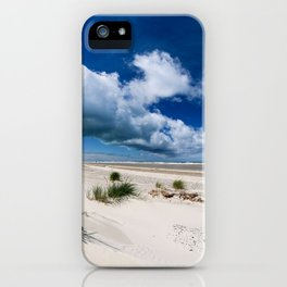 Grenen Beach Panorama iPhone Case