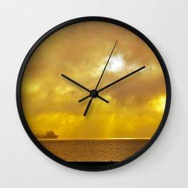 Mission Bay Sunrise | 2010 Wall Clock