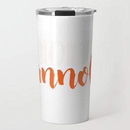 Funny Italian Cannoli Product Design Design Travel Mug