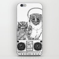 silent iPhone & iPod Skins featuring Silent Night ANALOG zine by jewelwing