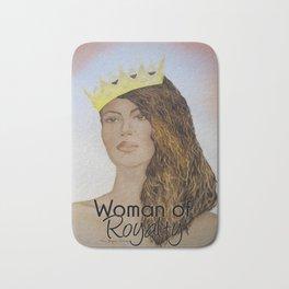 Woman of Royalty Bath Mat
