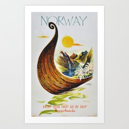Norway Art Print