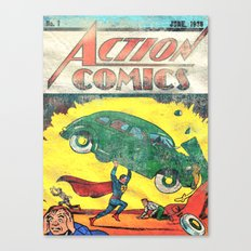 Superman Nº1 Canvas Print