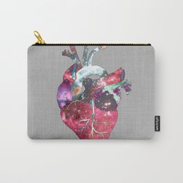 Superstar Heart (on grey) Carry-All Pouch