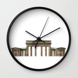 Brandenburg Gate Wall Clock