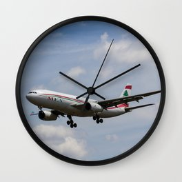 Middle Eastern Airlines MEA Airbus A330 Wall Clock