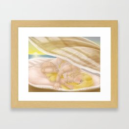 Aphrodite - Hellenic Goddess of Love Framed Art Print
