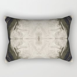 Hollow Earth Fractal Rectangular Pillow