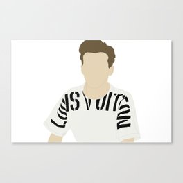 Louis Tomlinson Canvas Print