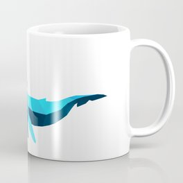 Polygon Whales Coffee Mug