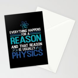 Everything Happens For A Reason Stationery Cards