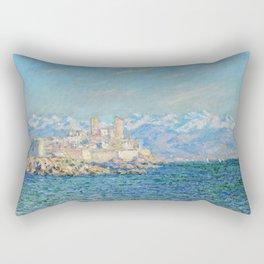 Claude Monet Antibes Afternoon Effect Rectangular Pillow