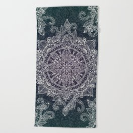 Mandala Magic  Beach Towel