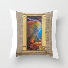Godspeed Stephen Hawking Throw Pillow