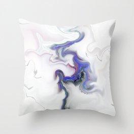 Beautifully Toxic Throw Pillow