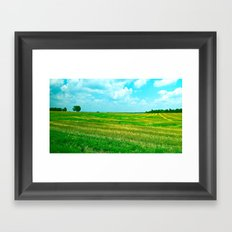 Kentucky Skies  Framed Art Print
