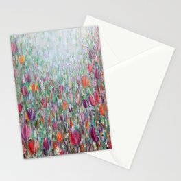 Tangled Tulips Stationery Cards