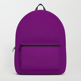 Zombie Purple Creepy Hollow Halloween Backpack