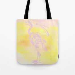 Flamingo Bones Tote Bag