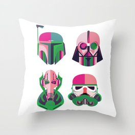 StarWars Identities Throw Pillow