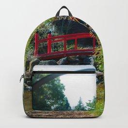 Japanese Garden Bridge Backpack