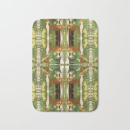 Out there in the woods, I feel peace........ Bath Mat