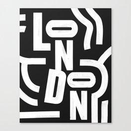 London Routes Canvas Print