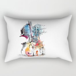 Abstract Music Rectangular Pillow