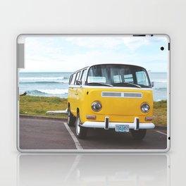 Combi yellow beach Laptop & iPad Skin