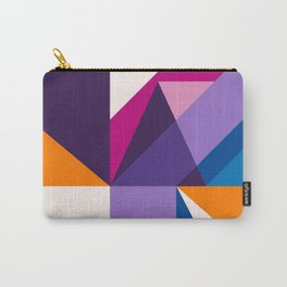 Abstract modern geometric background. Composition 5 Carry-All Pouch