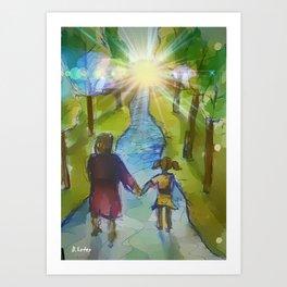 My Amazing Journey Art Print