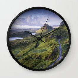 The Road to the Quiraing Wall Clock