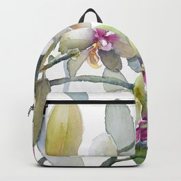 White and Pink Magnolias, Goldfish hiding, Surreal Backpack