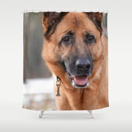 Do you want to play with me? Shower Curtain