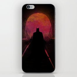 Dark heroe iPhone Skin
