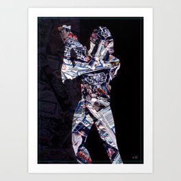 Cut StarWars Blister Collage 2 Art Print