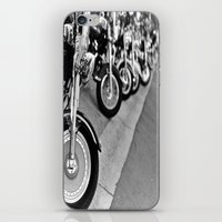 bikes iPhone & iPod Skins featuring Bikes by M. Gold Photography