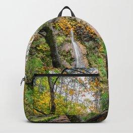 Autumn Waterfall Backpack