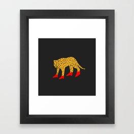 Red Boots Framed Art Print