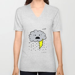 Thunder-Snow!  Unisex V-Neck