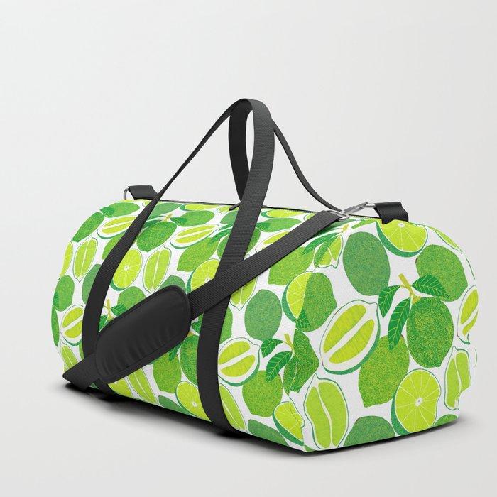 Lime Harvest Duffle Bag
