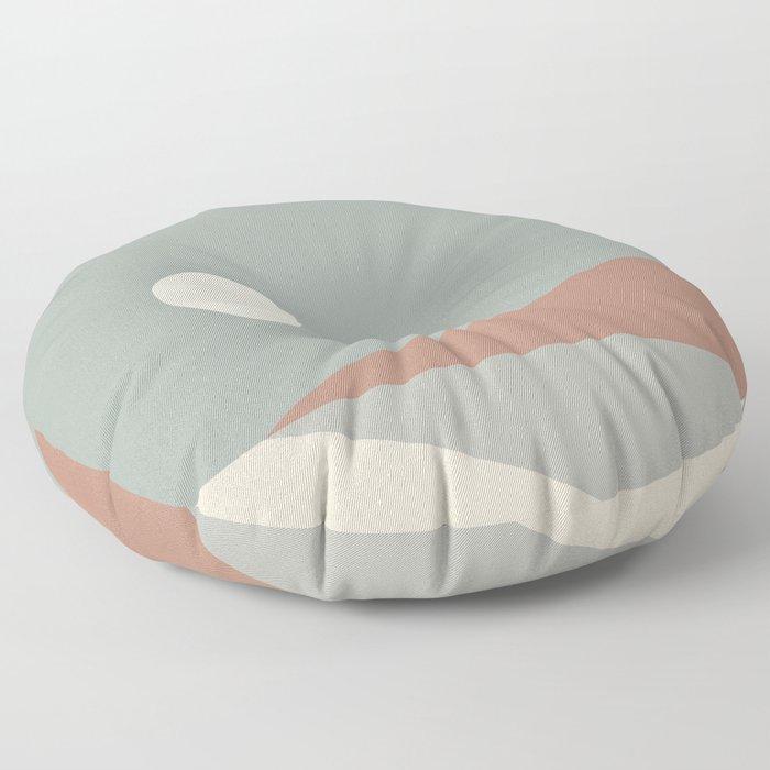 Geometric Landscape 03 Floor Pillow