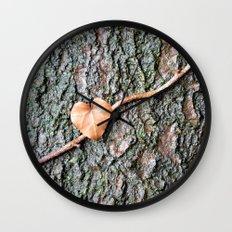 Heart and tree Wall Clock