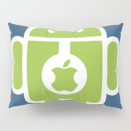 Android eats Apple Pillow Sham
