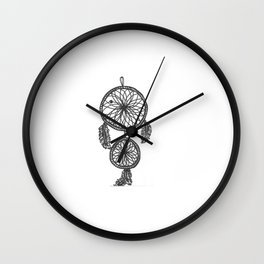 dream of tomorrow Wall Clock
