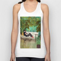jungle Tank Tops featuring jungle by Lara Paulussen