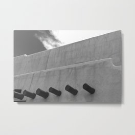 Shapes of Adobe Architecture Metal Print