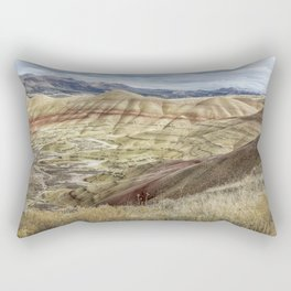The HIlls are Alive with Color Rectangular Pillow