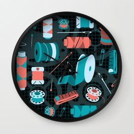 cotton on Wall Clock