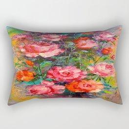 Roses art Rectangular Pillow